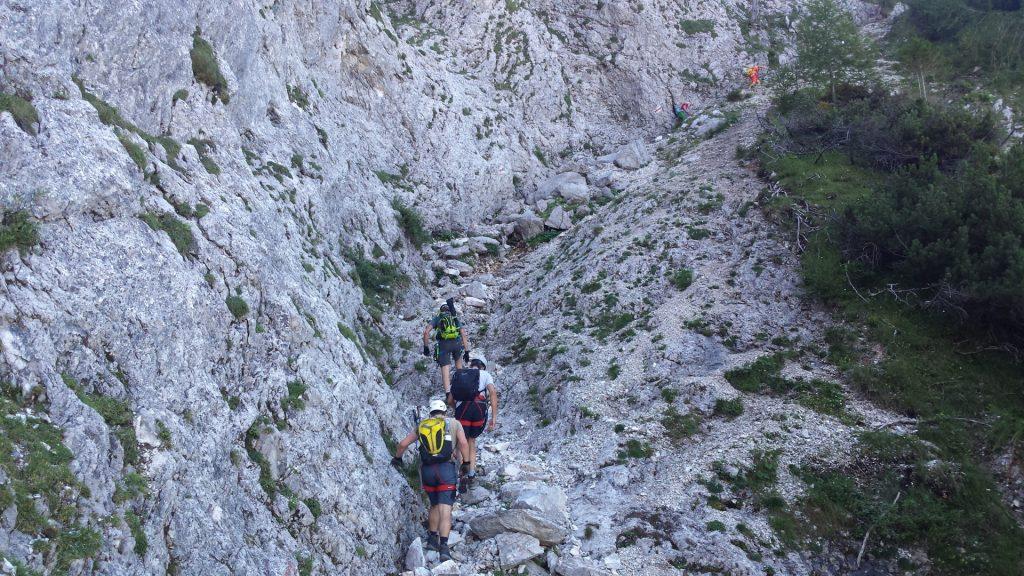 Climbing up the Wildfährte