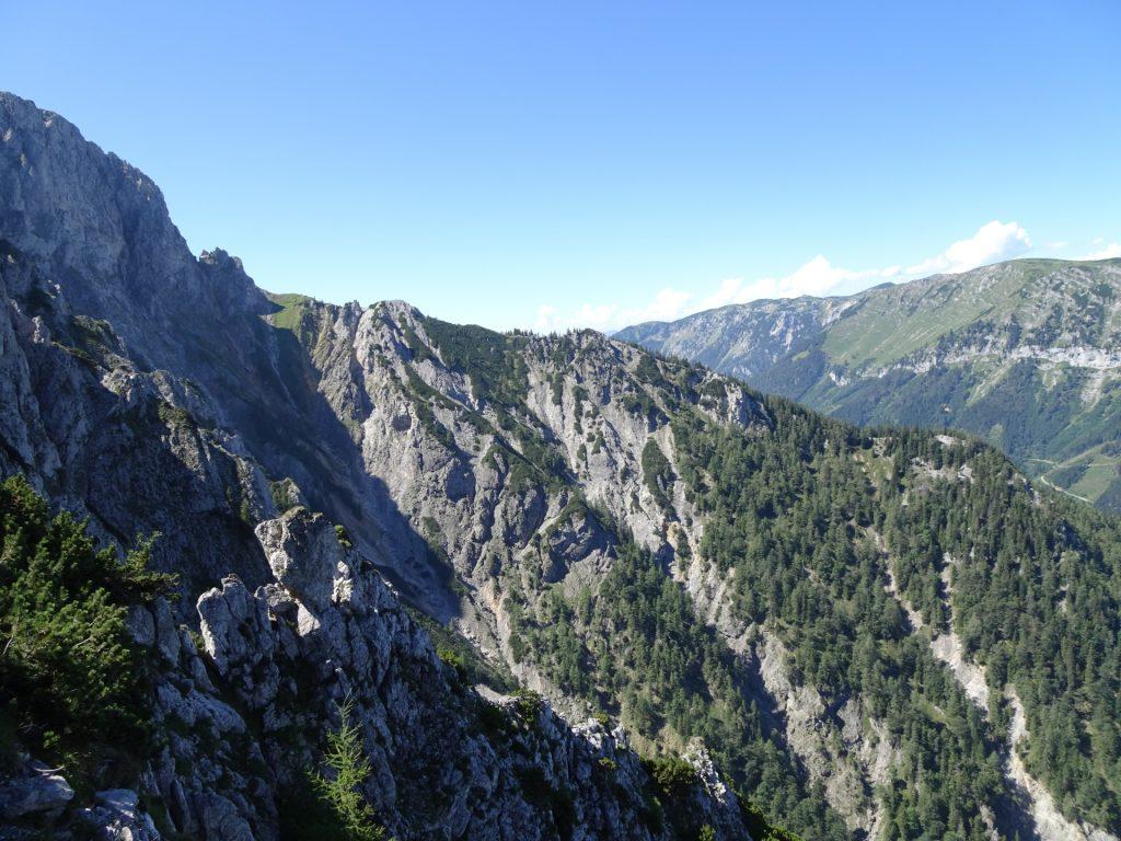 Impressive view from Wildfährte
