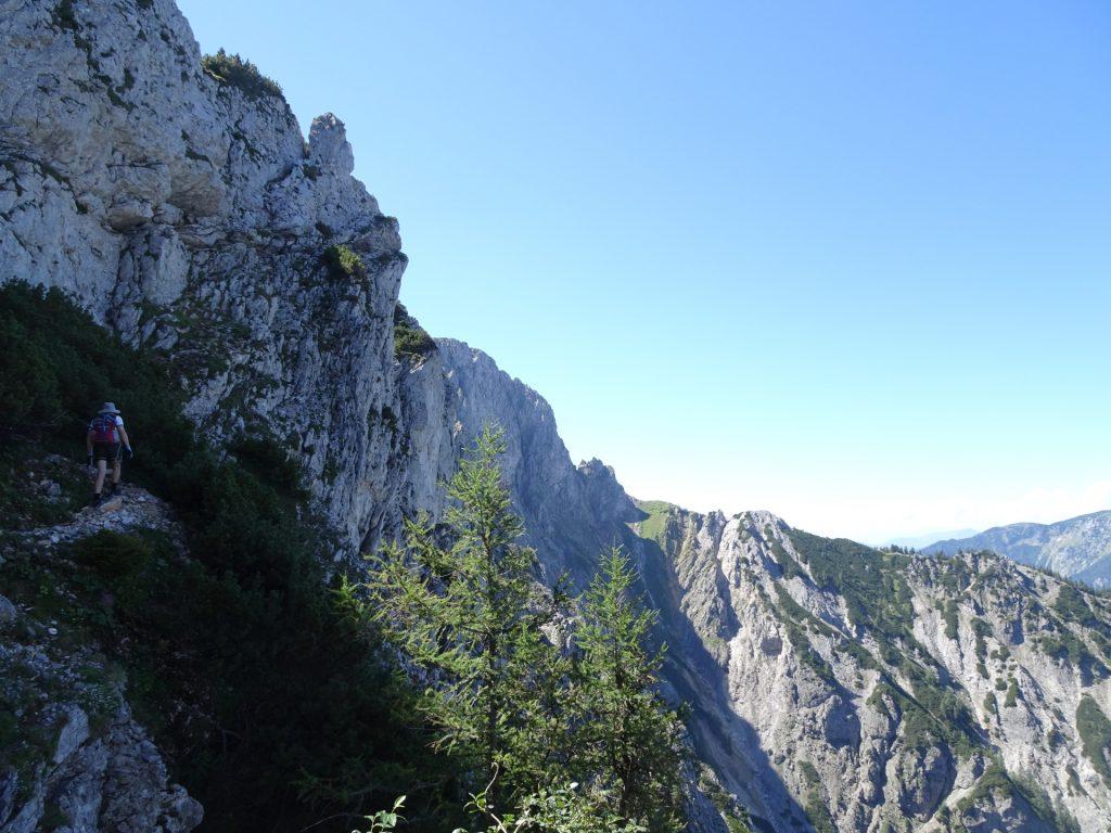 Trail allows fantastic views
