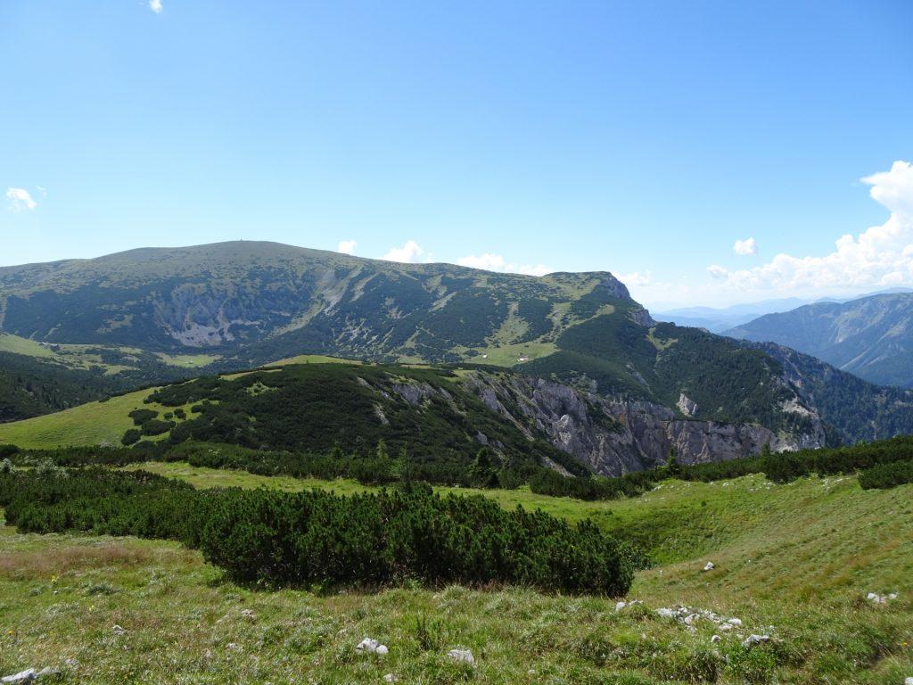 View back to the exit of Wildfährte and Bärenlochsteig