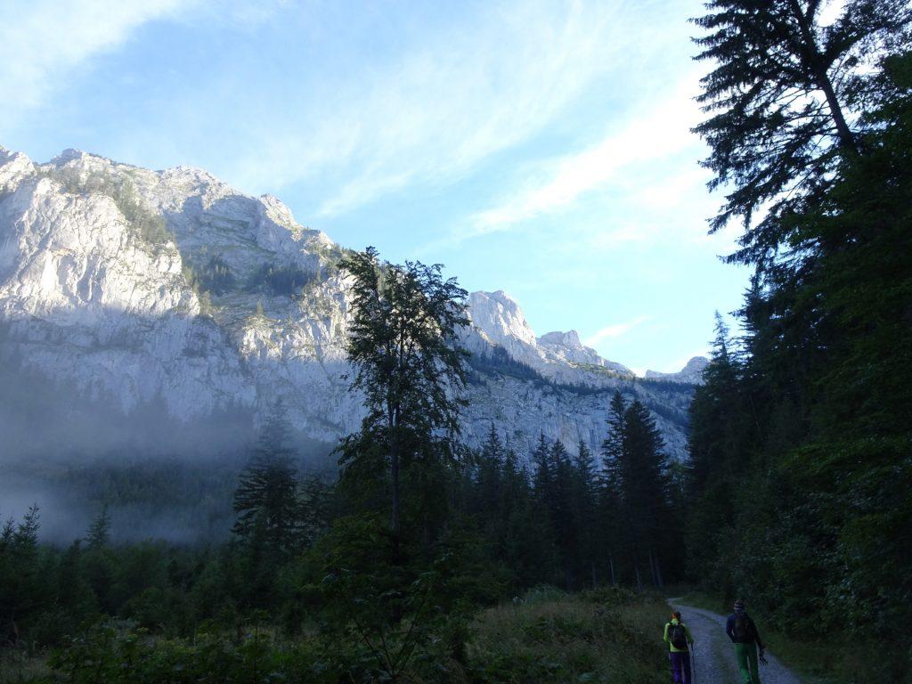 """On the trail towards """"Hochschwab"""""""