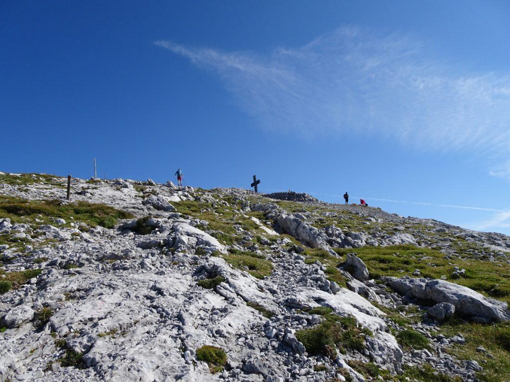 "Close to the summit of ""Hochschwab"""