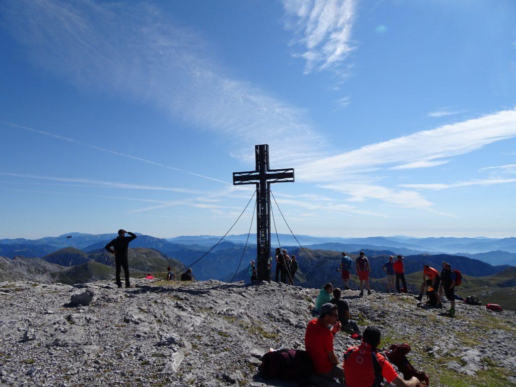 "The ""Hochschwab"" summit (2277m)"
