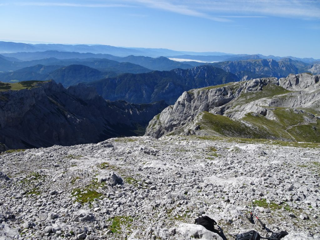 "View from ""Hochschwab"""