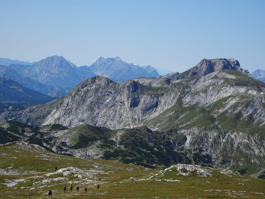 "View from the trail towards ""Häuslalm"" (Öhler and Ebenstein)"