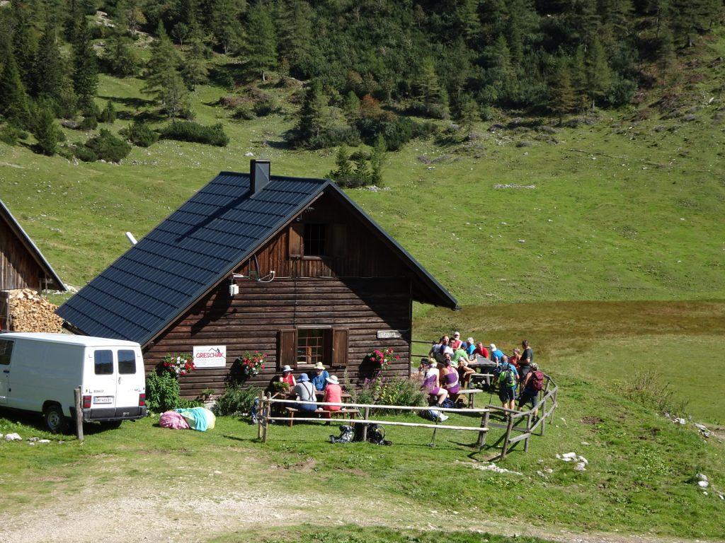 """The """"Sackwiesenalm"""" hut"""