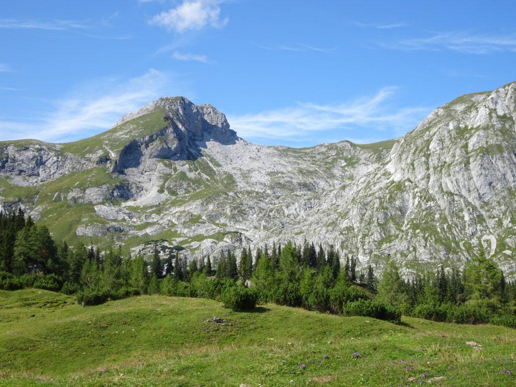 """View towards the """"Ebenstein"""""""