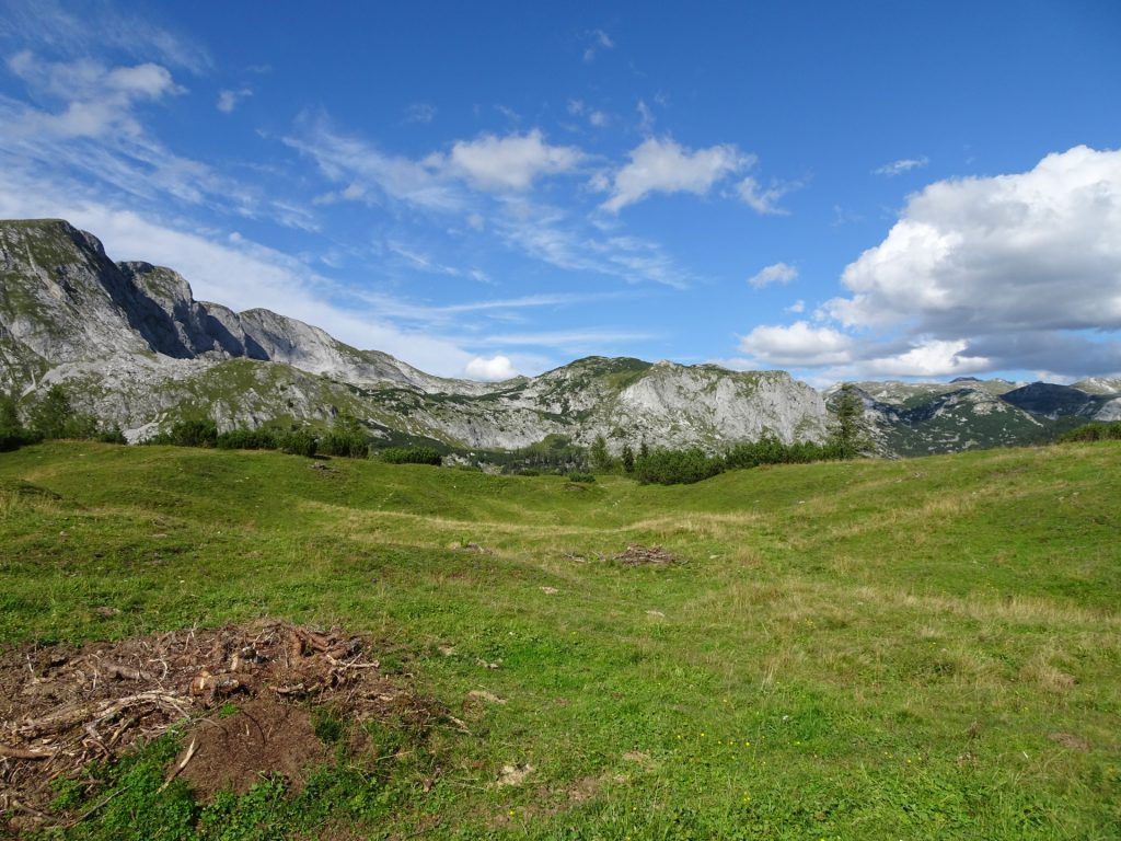 """View from the """"Sonnschienalm"""""""