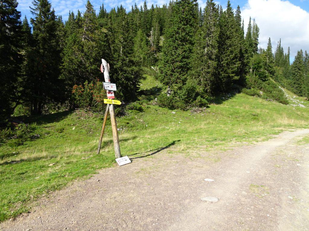 """Towards """"Häuslalm"""""""