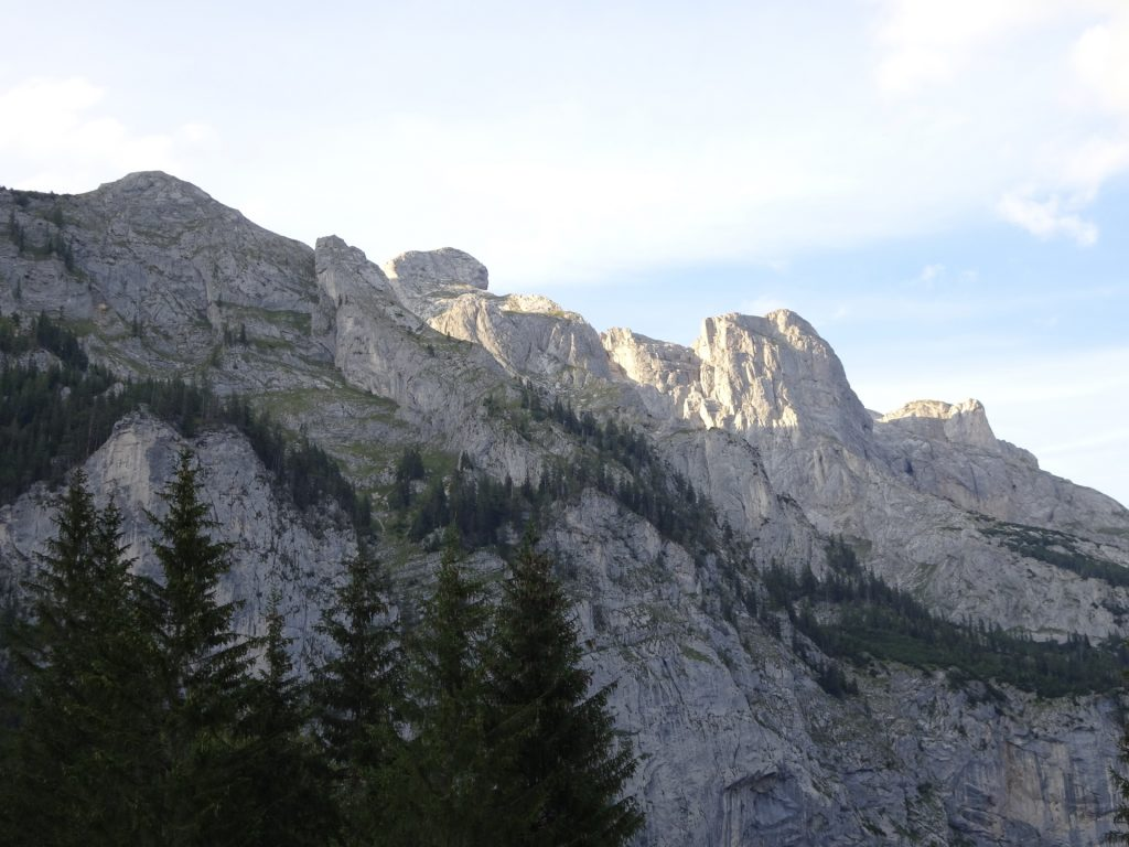 View from the trail back