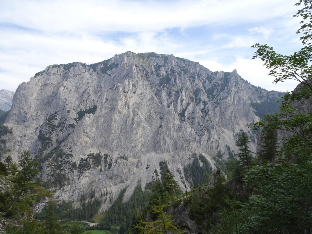 """View from the trail towards """"Messnerin"""""""