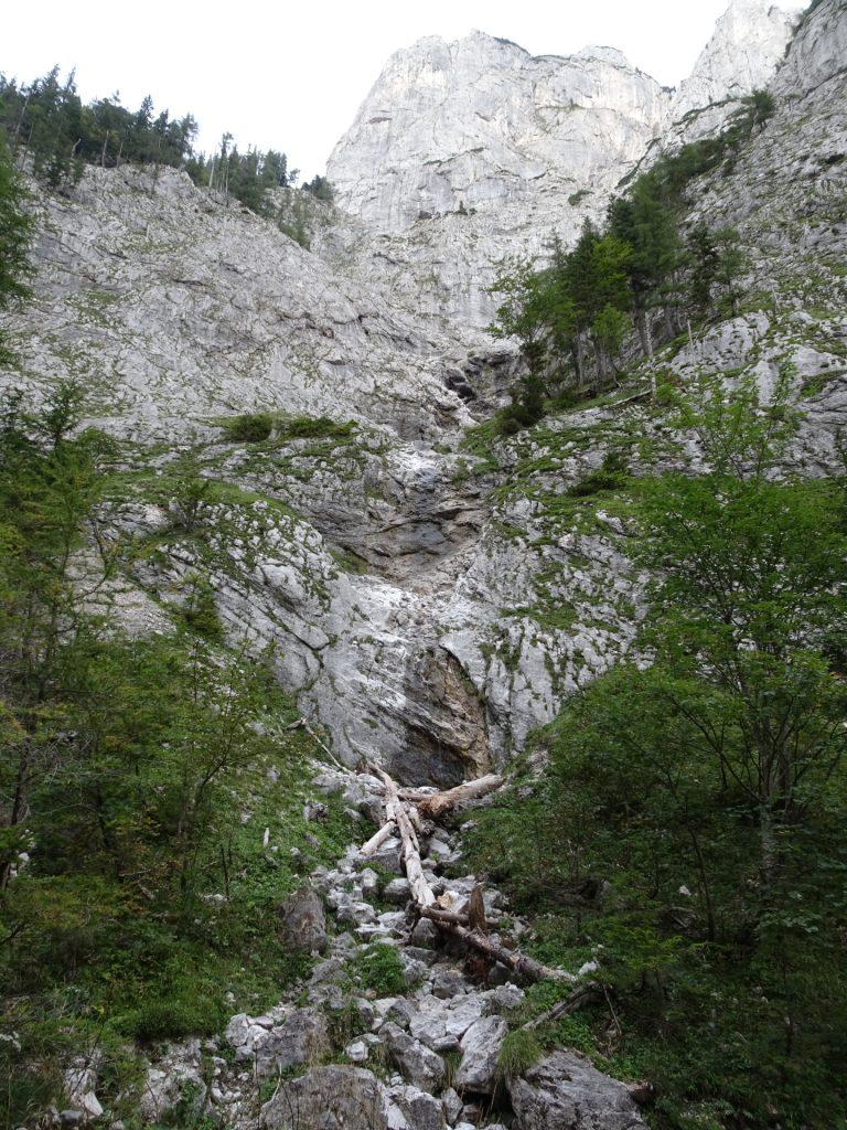 """Waterfall at the """"Klammboden"""""""