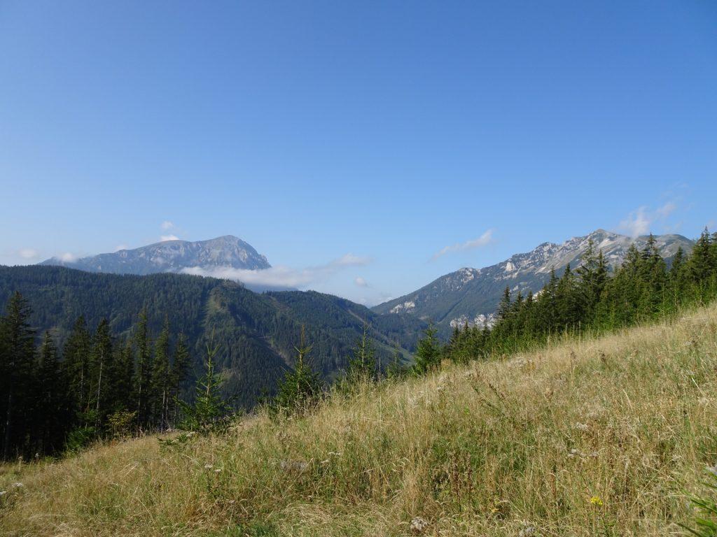 """View from the trail towards """"Eisenerzer Reichenstein"""""""