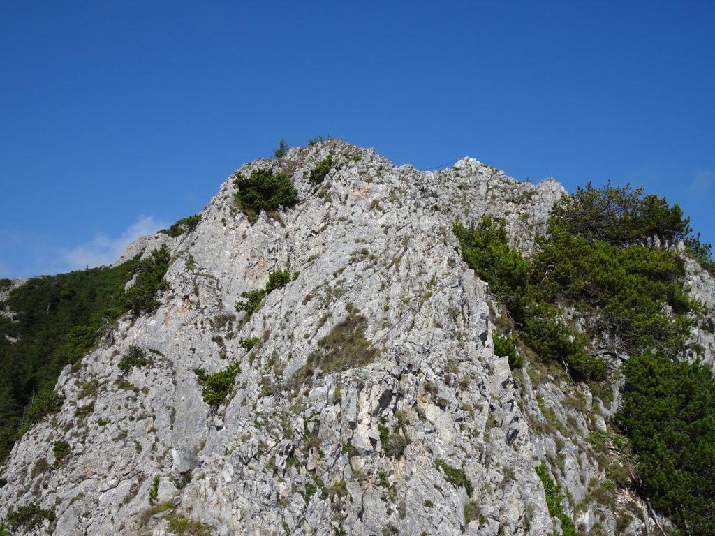 First ridge climb (A/B)