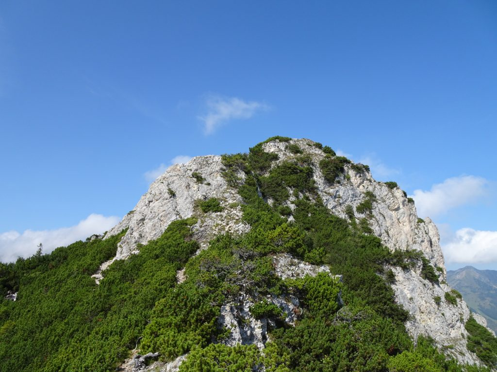 Next climbing passage ahead (UIAA I)