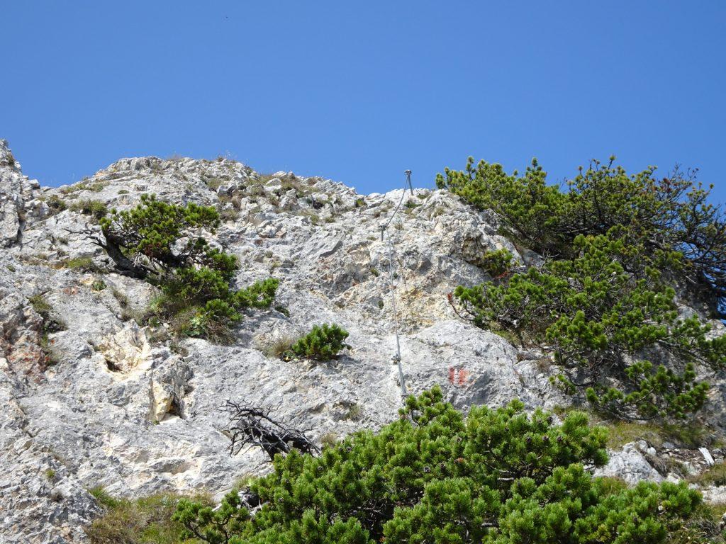 Next short climbing passage (A/B)