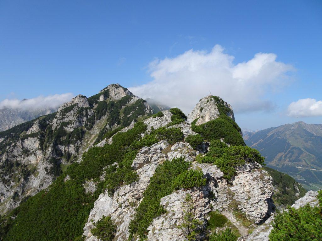 "The summit cross of ""Vordernberger Mauer"" (B/C)"