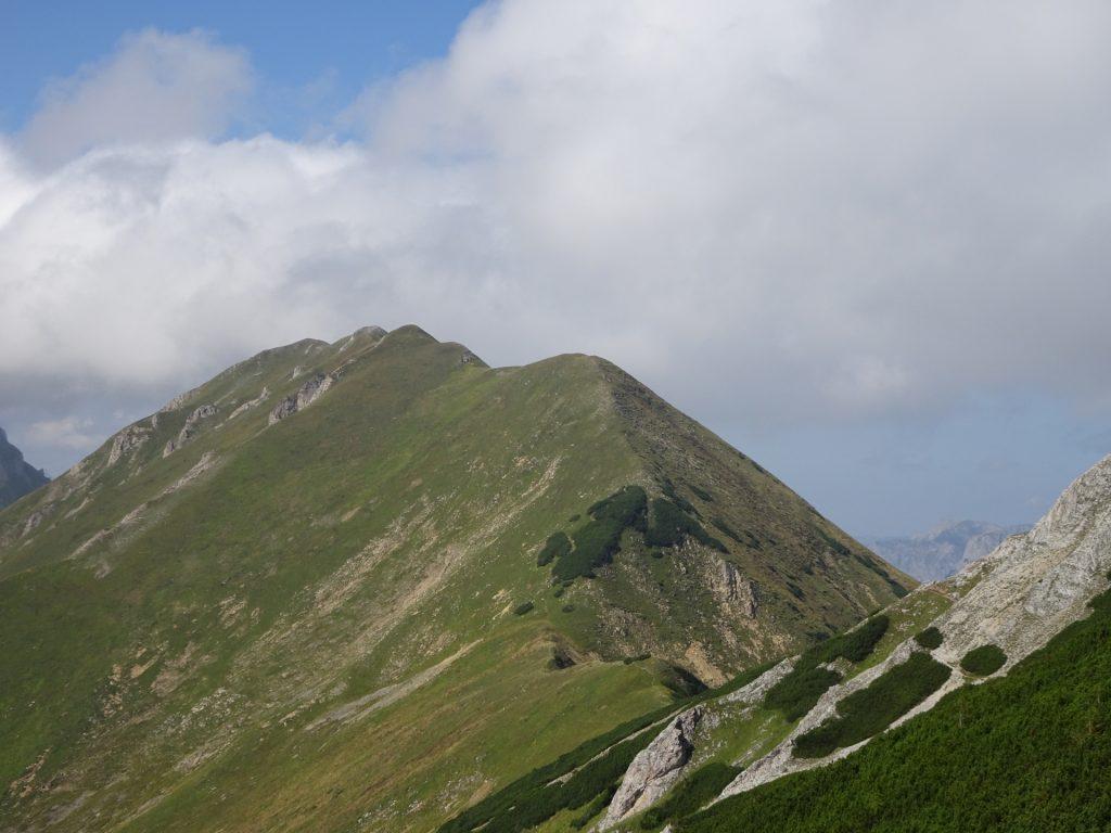 "Along the ridge towards the ""Vordernberger Zinken"""