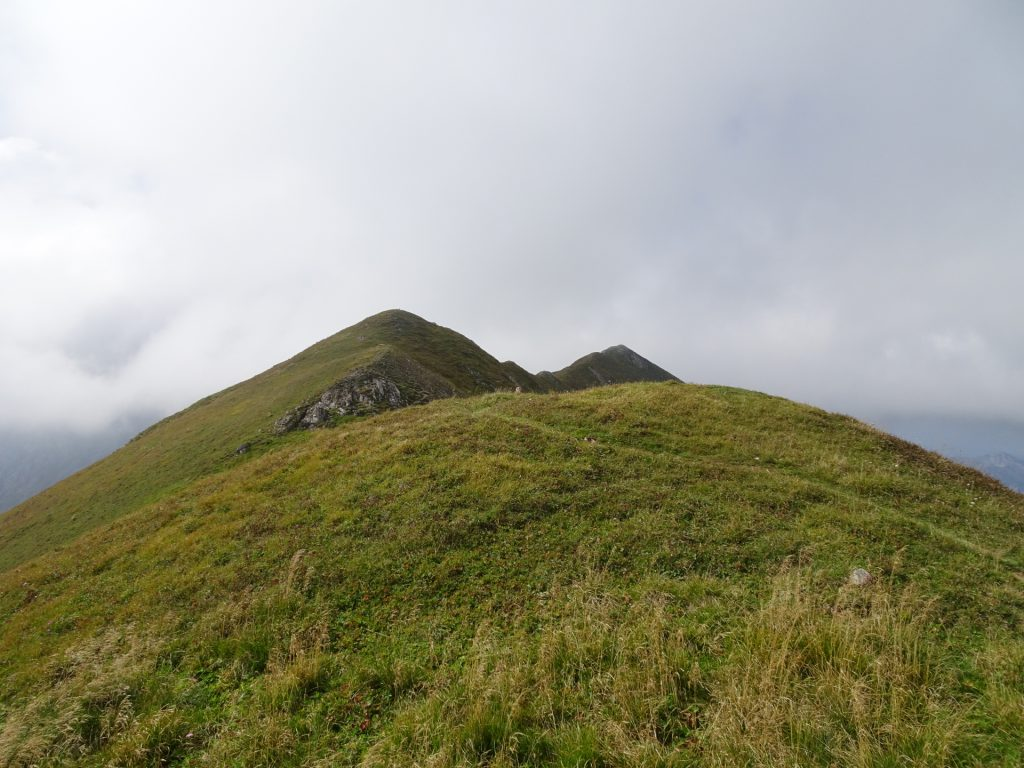 "On the trail towards ""Vordernberger Zinken"""