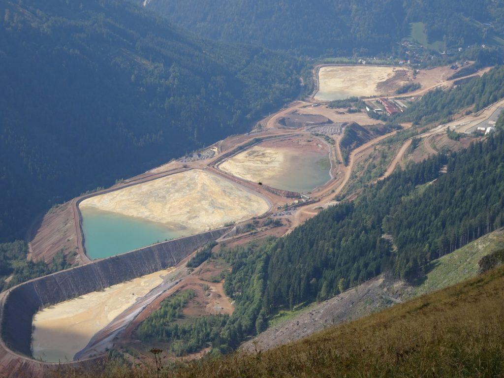 "The ""Erzberg"" surface mining facility"