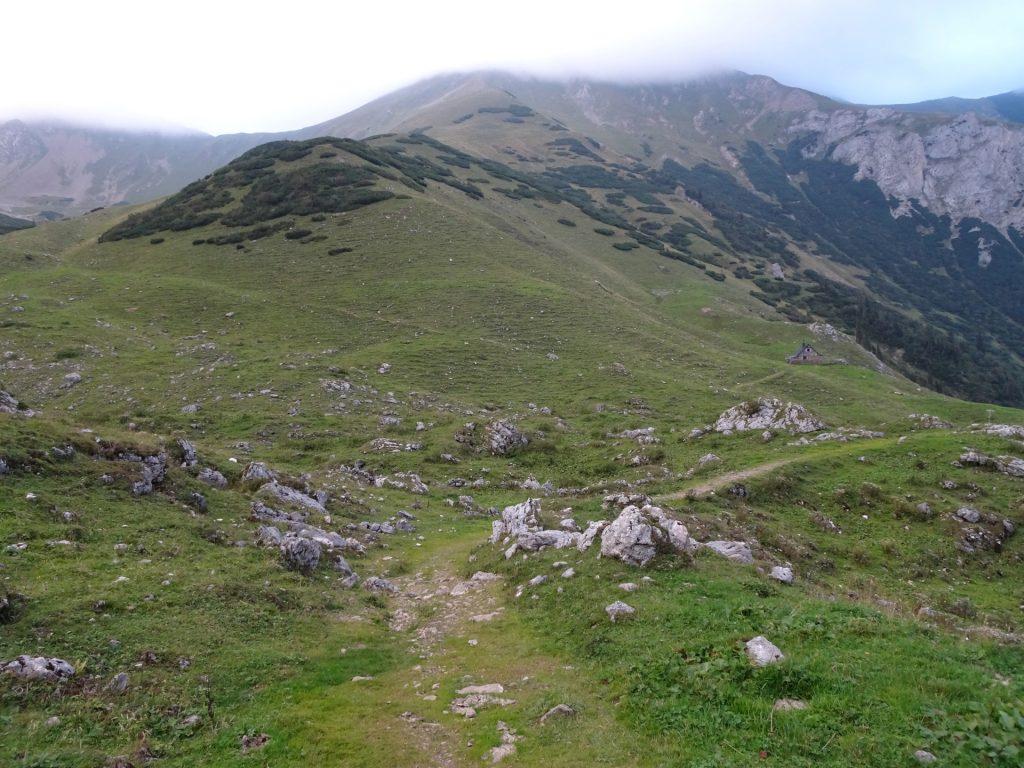 "Towards the ""Krumpalmhütte"" hut"