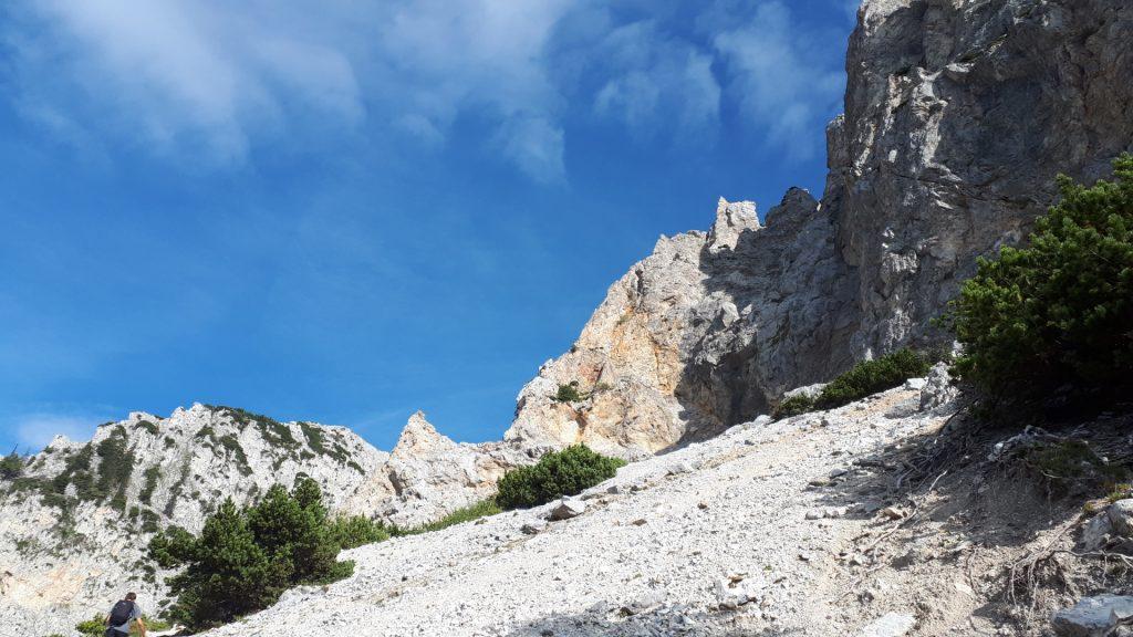 View towards Haidsteig