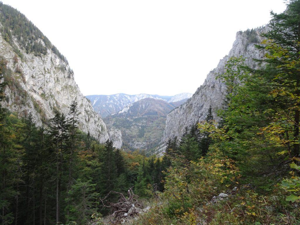 "View from the ascent towards ""AV-Steig"""