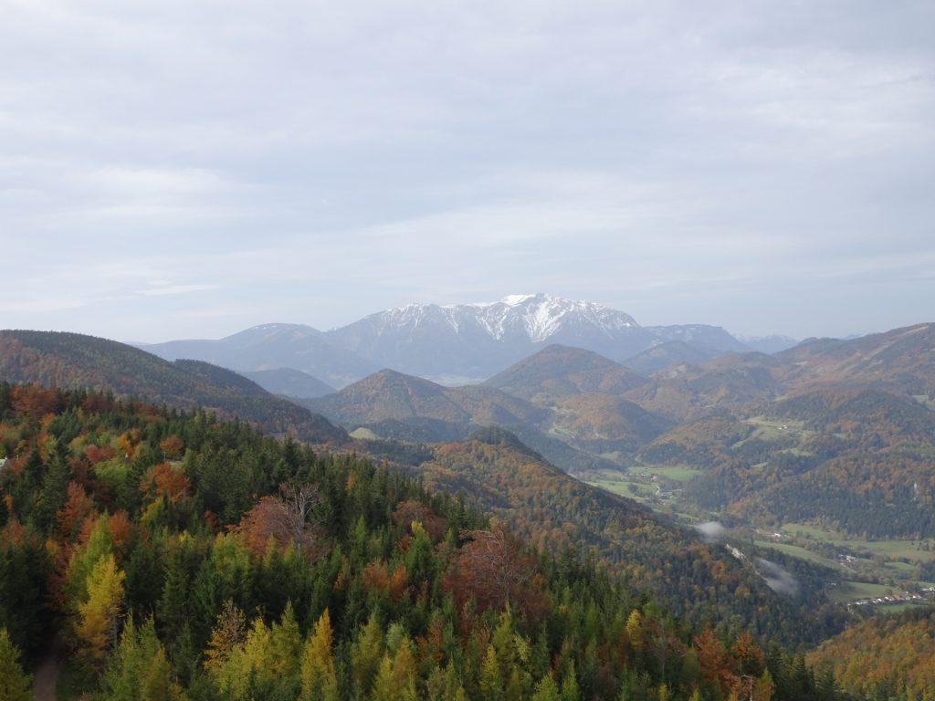 "Impressive view towards ""Schneeberg"""