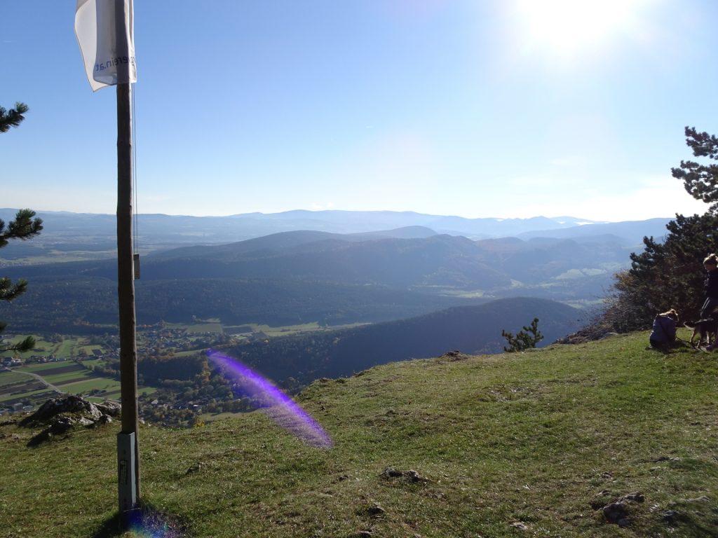"""View from """"Hubertushaus"""""""