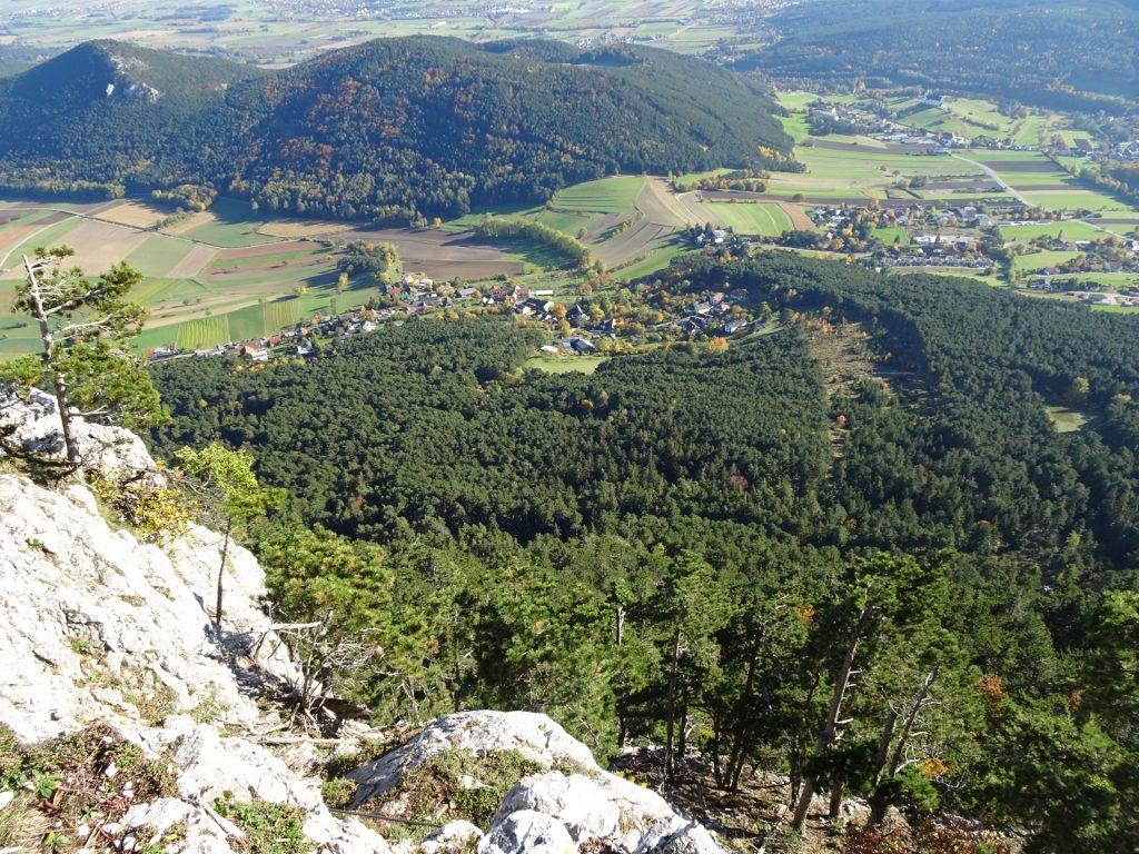 Steirerspur: Begin of the via ferrata (descent first)