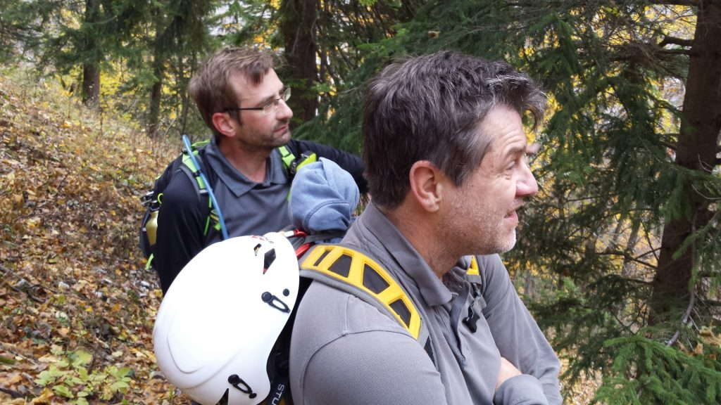 Stefan and Robert are studying the various trails