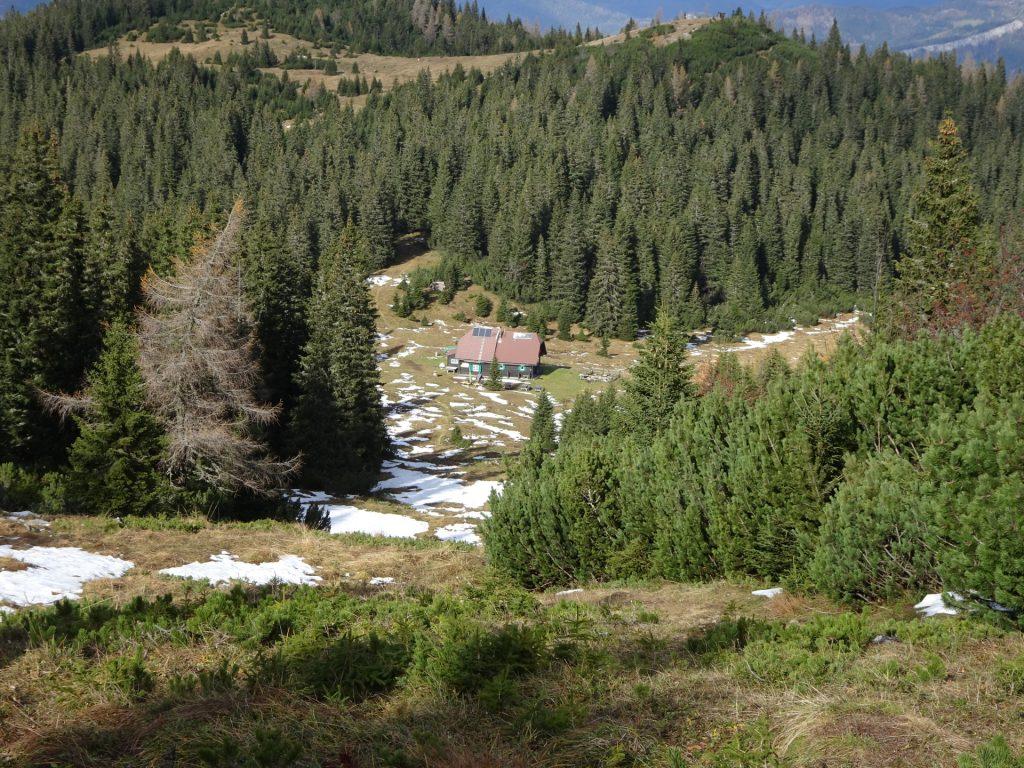 "The ""Gloggnizer Hütte"" (closed)"
