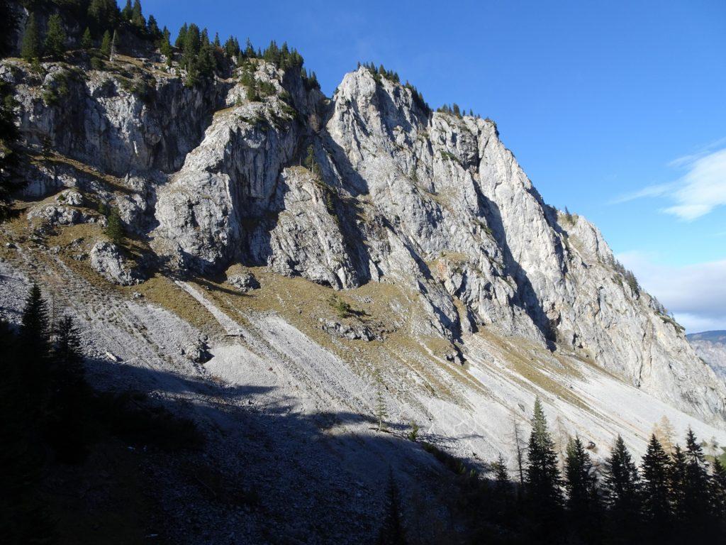 """View from trail towards """"Gustav-Jahn-Steig"""""""