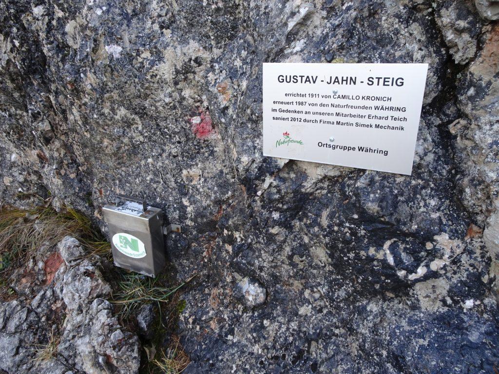 """The """"Gustav-Jahn-Steig"""""""