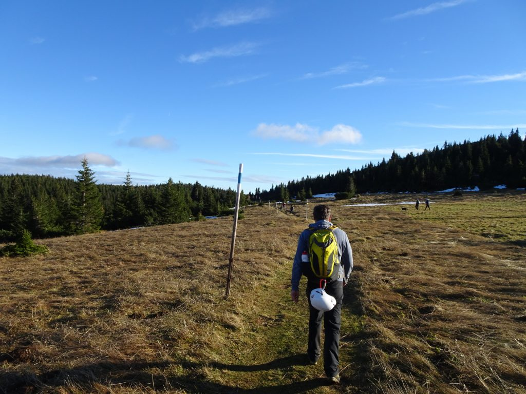 """Robert on the trail towards """"Praterstern / Ottohaus"""""""