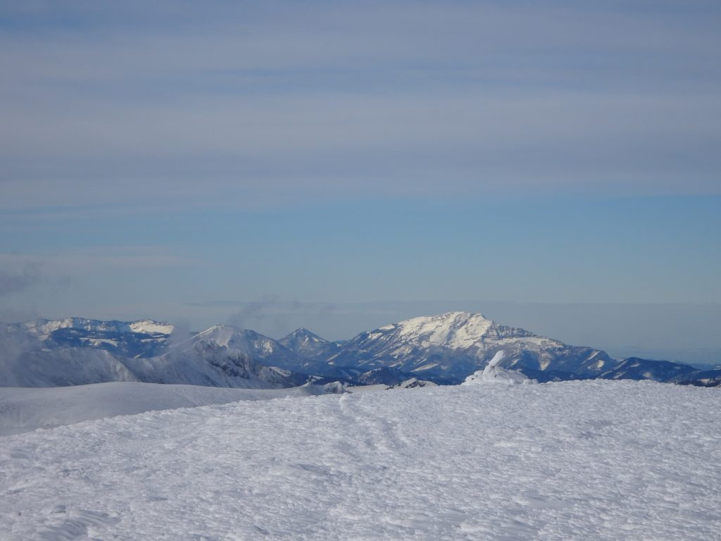 "View from the ""Heukuppe"" summit"