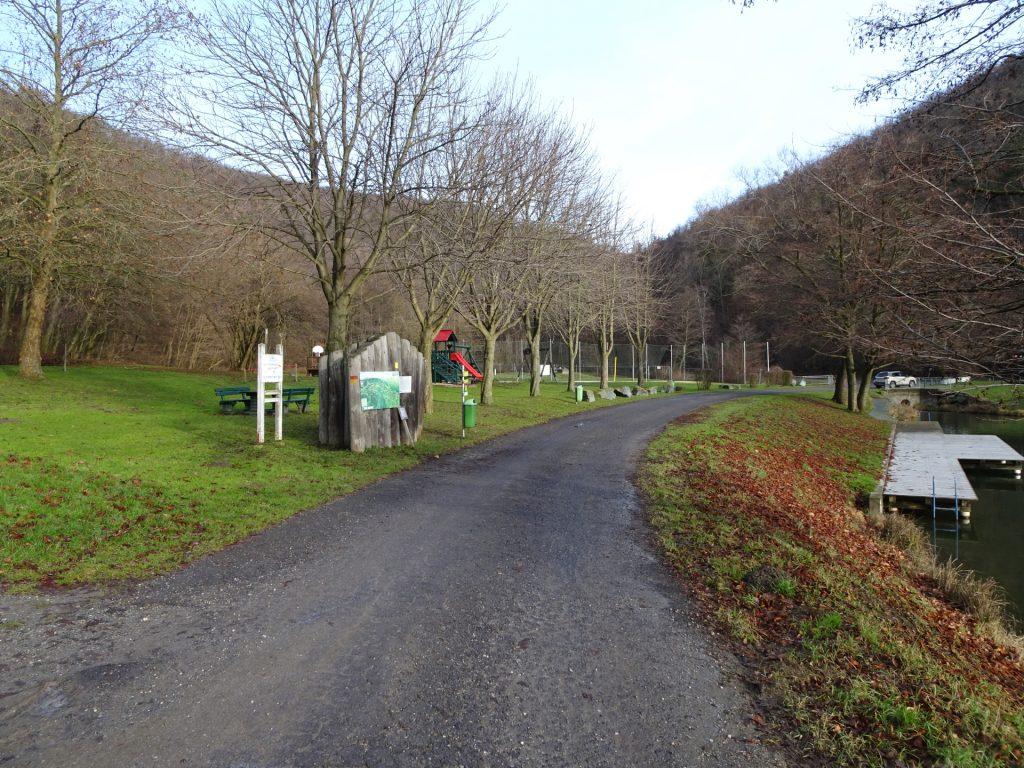 """Trail towards """"Geschriebenstein"""""""