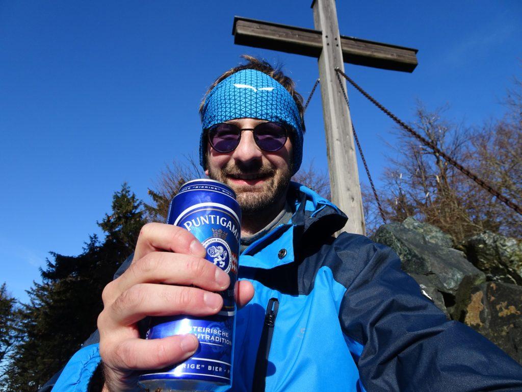 """Celebrating 35000 meter of ascent in 2020 at """"Hirschenstein"""""""
