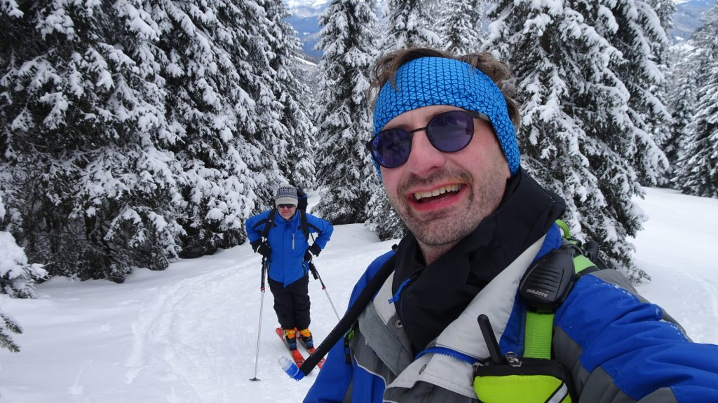 Stefan and Robert enjoying the tour
