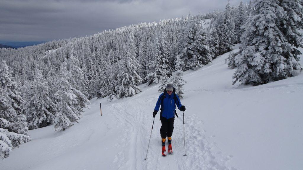 Robert on the last meters towards Stuhleck